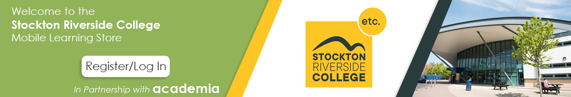 Welcome to the Stockton Riverside College Mobile Learning Portal